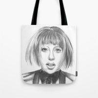 artpop Tote Bags featuring ARTPOP by ArtLm