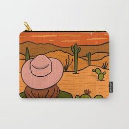 Desert Girl Carry-All Pouch