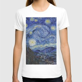 The Starry Night by Vincent van Gogh T-shirt