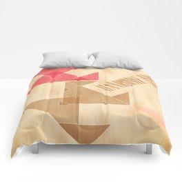 Handsome Furs Gig Poster Comforters