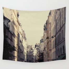 Paris Streets Wall Tapestry