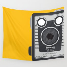 Vintage Kodak Brownie  Wall Tapestry