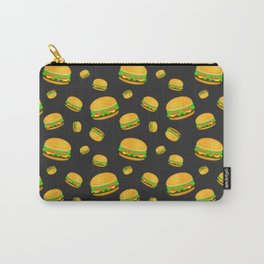 Cool and fun yummy burger pattern Carry-All Pouch