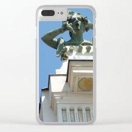 Vienna modern art Clear iPhone Case
