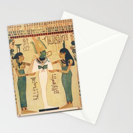 Ancient - The Children's Encyclopedia 1940s, A page from the Book of the Dead Stationery Cards