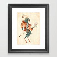 The Magical Faun Framed Art Print