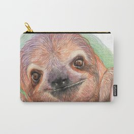 The Smiling Sloth Carry-All Pouch