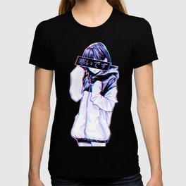 COLD - Sad Japanese Anime Aesthetic T-shirt