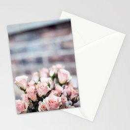ROSES - PINK - PHOTOGRAPHY - FLOWERS Stationery Cards
