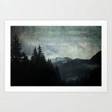 Wilderness Wonderland Art Print