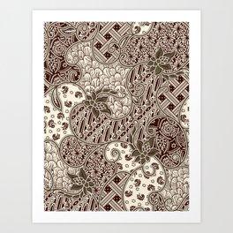 ethnic #1 Art Print