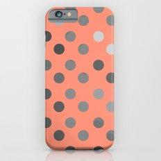 Polka Proton Pink iPhone 6s Slim Case