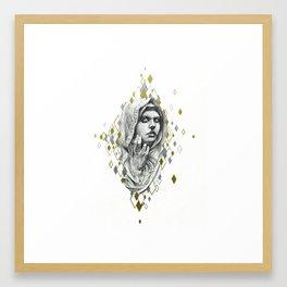 Glanced At Framed Art Print