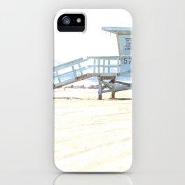 Lifeguard Tower iPhone Case