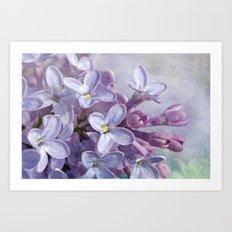 Lilacs Art Print