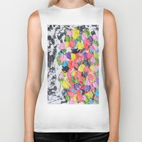 carnival Biker Tanks featuring Carnival  by Laura Jane Mitbrodt