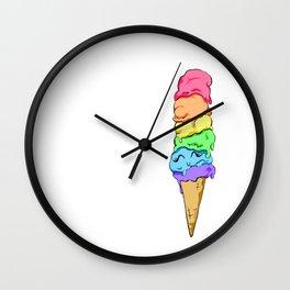 Happy Ice Cream Wall Clock