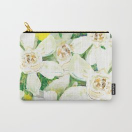 Garden of Gardenias Carry-All Pouch
