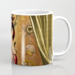 Funny cute steampunk giraffe Coffee Mug