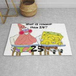 What's funnier than 24? 25 Rug