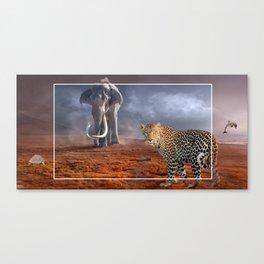 World of Animals by GEN Z Canvas Print