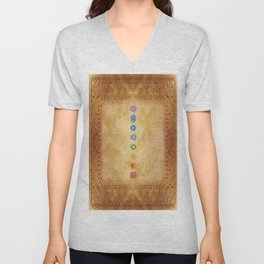 Chakras Kali | Beyond the time  Unisex V-Neck