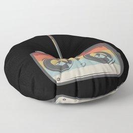 Remote RC Car Model Retro Floor Pillow