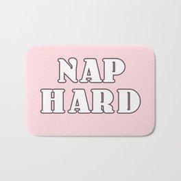nap hard Bath Mat