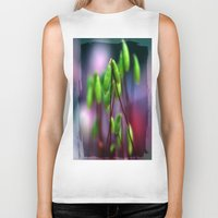 moss Biker Tanks featuring Moss  by LoRo  Art & Pictures