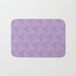 Lavender Victorian Lace Bath Mat
