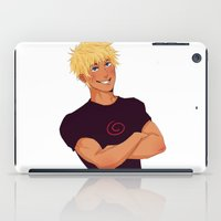 naruto iPad Cases featuring Naruto Uzumaki by Yuki119