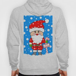 Merry Christmas Santa Hoody