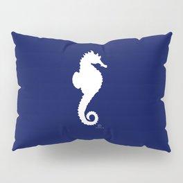 AFE Navy & White Seahorse Pillow Sham