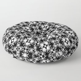 Abstract geometric pattern 1 Floor Pillow