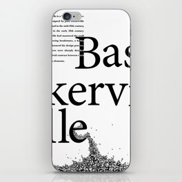 Bask in the Ville iPhone Skin