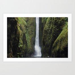 Oneonta Gorge Art Print