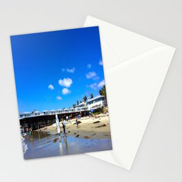 San Diego Beach Boardwalk/Crystal Pier Stationery Cards