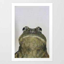 Hey, Frog Art Print