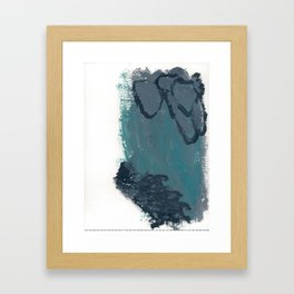 Cold Waters 2 Framed Art Print