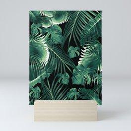 Tropical Jungle Leaves Dream #6 #tropical #decor #art #society6 Mini Art Print