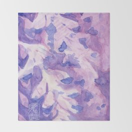 Wisteria Throw Blanket