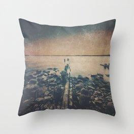 Dark Square Vol. 6 Throw Pillow