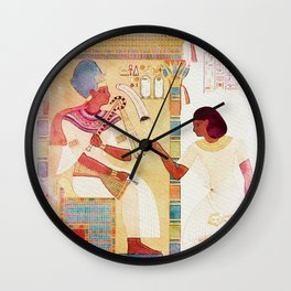 Art of Ancient Egypt Wall Clock