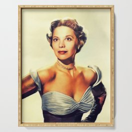 Dinah Shore, Vintage Singer Serving Tray