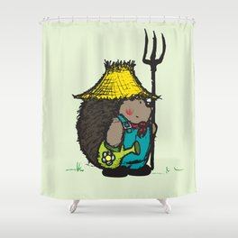 Farmer Shower Curtain