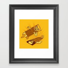 Lucha Doors!  Framed Art Print