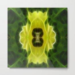 Henbane Mandala Metal Print
