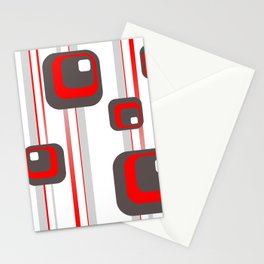 Vintage Retro Graphic white Stationery Cards