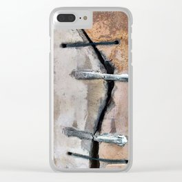 Our Cracked Planet Clear iPhone Case