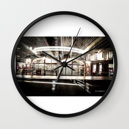 Explozoom On A French Carousel Wall Clock